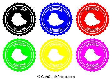 Ethiopia - rubber stamp