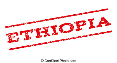 Ethiopia Watermark Stamp - Ethiopia watermark stamp. Text...