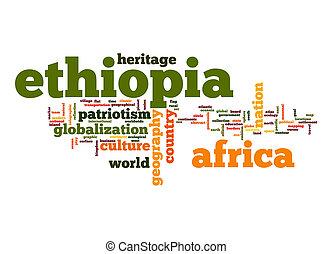 Ethiopia word cloud