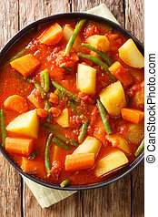 ethiopian, prato., kilkil, vista, combinação, topo,...