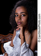 ethiopian, vestido