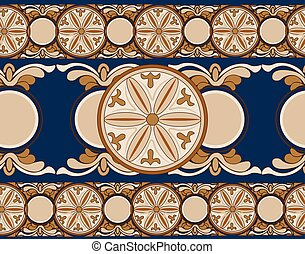 Ethnic abstract ornament pattern