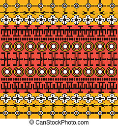 Ethnic African symbols background
