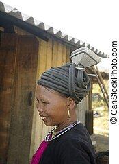 Ethnic black Dao female