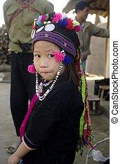 Ethnic Dao Tien Girl