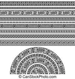 Ethnic design set