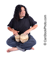 Ethnic drummer
