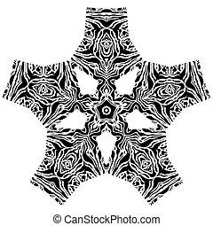 Ethnic element - Ethnic figure for design, background, card,...