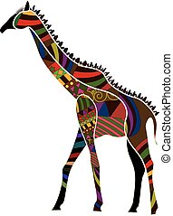 ethnic giraffe