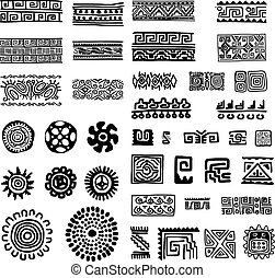 Ethnic handmade ornament for your design. Vector...