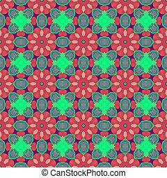 ethnic kaleidoscopic patterns, colorful background