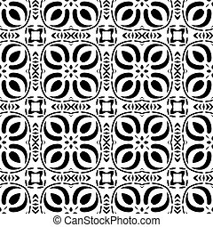 ethnic modern geometric seamless pattern ornament background