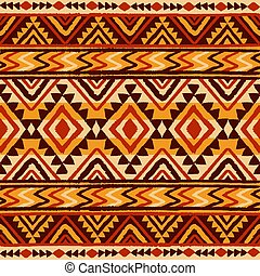 Ethnic ornament. Seamless Navajo pattern.