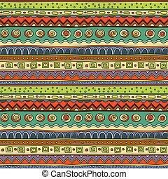 Ethnic ornament, vector