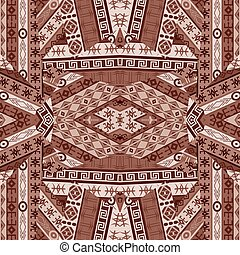 Ethnic patchwork design