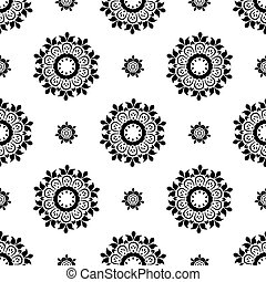Ethnic pattern. Seamless ornament