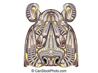 ethnic rhino