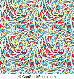 Ethnic seamless pattern, background
