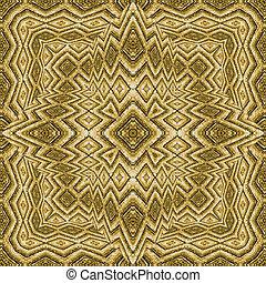 Ethnic Style Decorative Seamless Pattern