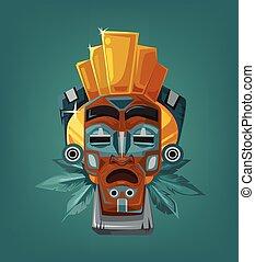 Ethnic tribal mask