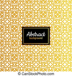 Ethnic vector floral seamless pattern background template