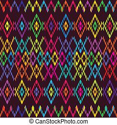 ethnique, coloré, moquette