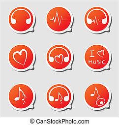 etichette, musica