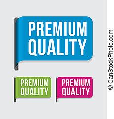 etiket, moderne, %u2013, premie, kwaliteit