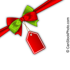 etikettieren verkauf, geschenkband, schleife