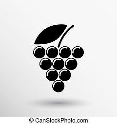 etiqueta, logotipo, diseño, lagar, vino, uva, prima