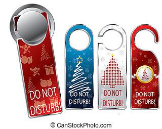 etiquetas, diseño, navidad, intimidad