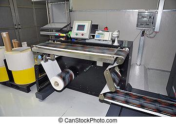 etiquetas, impressora, digital