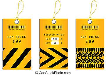 etiquetas precio