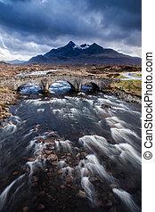 Etive Moor in Scotland