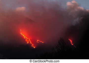 Etna Lava Flow