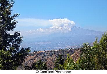 Etna, paysage
