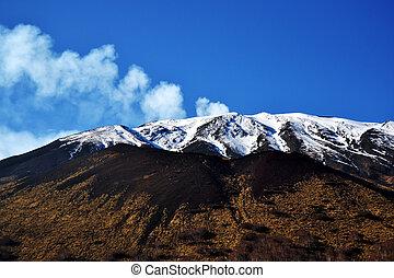 Etna, Sicily's active volcano