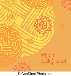 etnisk, bakgrund