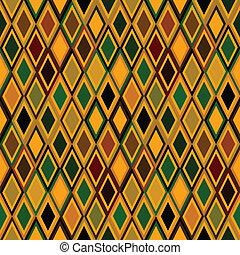 etnisk, gul, struktur