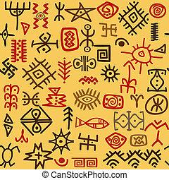 etnisk, symboler, bakgrund