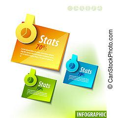etykiety, infographics