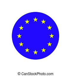 eu, 旗, ヨーロッパ, union.