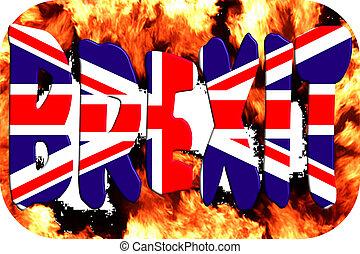 eu, 概念, イギリス\, brexit.