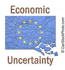 eu, 経済, 不確実