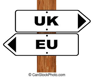 EU and UK Brexit Split