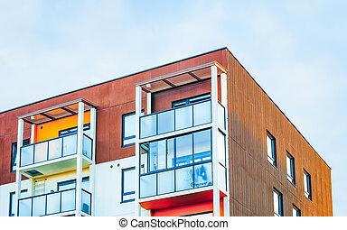 EU Apartment house residential building real estate