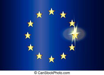 EU Bright Flag