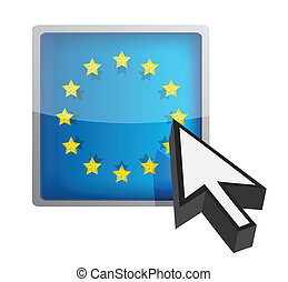 EU button and cursor