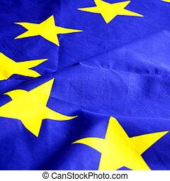 flag of the european union or eu