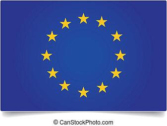 EU flag - European union flag